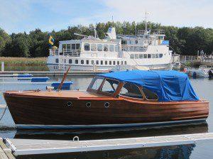 Mahognybåt o fartyg