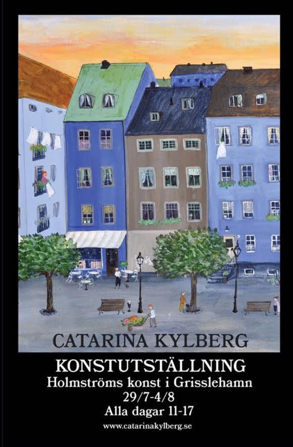 Konstutställning Catarina Kylberg - Holmströms konst i Grisslehamn